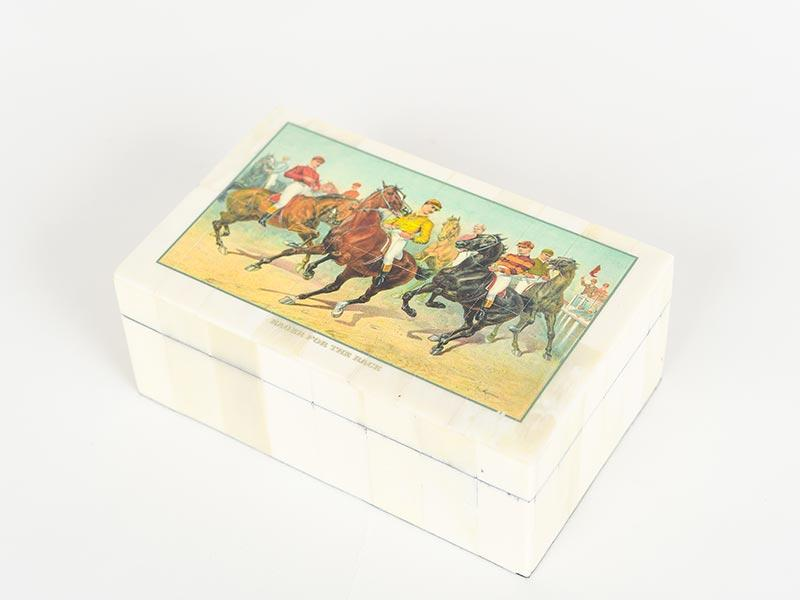 """""""Eager for the Race"""" Box, Scout Southern Market, $33"""